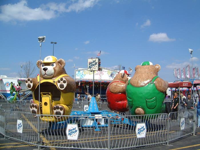 Arnold Amusements View Ride Details Bear Affair